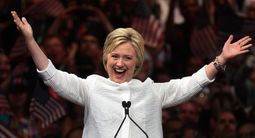 Hillary Clinton Clinches Democratic Presidential